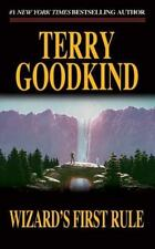 Sword of Truth: Wizard's First Rule 1 by Terry Goodkind (1995, Paperback)