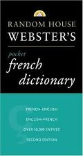 French Dictionary by RH Disney Staff (1997, Paperback, Large Type)