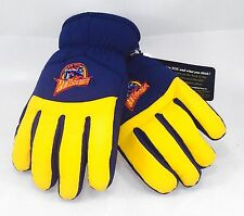 NBA Golden State Warriors 2 Tone Winter Snow Ski Gloves Thermal Insulation S/M