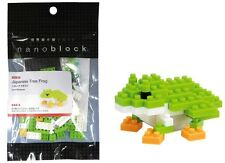 NANO BLOCKS JAPANESE TREE FROG MINI BRICKS PUZZLE NANOBLOCK GREAT GIFT