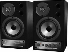 Behringer MS20 Active Speakers Amplified Stereo Near Field 2-Way Monitors dsplay