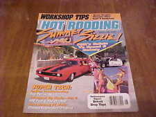 POPULAR HOT RODDING MAGAZINE AUGUST 1990 SUMMER SIZZLE SALUTE TO SPEED & BEAUTY