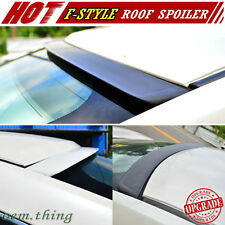 For INFINITI G35 G45 V35 4D Sedan F-Style Window Visor Roof Spoiler Wing 03-04