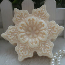 Silicone Soap Candle Mold Soap Making Mould DIY Handmade Mold Flowers