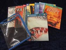 8 EYEWITNESS BOOKS by DORLING KINDERSLEY ** UK FREEPOST ** PAPERBACKS