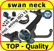 Towbar & Electrics 13pin BMW 5 Series E39 Saloon 1995 - 2004 / swan neck NEW