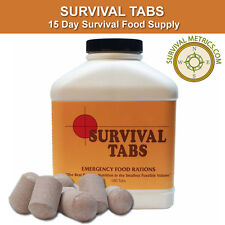 Survival Tabs - 15 Day Survival Food Supply - 10+ Year Shelf Life
