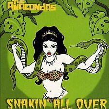 ANACONDAS Snakin' All Over CD Great SURF INSTRUMENTAL Brand New Digipack