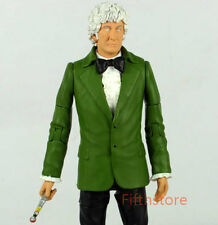 Doctor Who Third Doctor Green Jacket + Sonic Screwdriver Loose Action Figure 3rd
