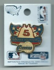 NBA Los Angeles Clippers Danny Manning Pin Stamped Imprinted Products 1991