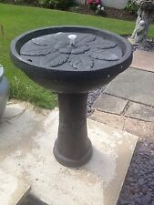 Bernini  programmable Rechargeable Fountain water feature  garden Conservatory