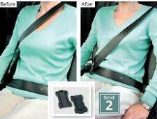 Car Seat Belt Supports Adjusters Clips Strap Safety Comfort Shoulder Neck Aid