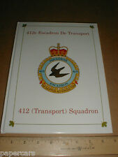 412 Transport Squadron Royal Canadian Air Force history WWII 1936-1995 RCAF book