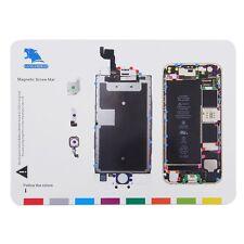 Magnetic Screw Mat Repair Professional Guide Pad Tool For iphone 6s 4.7'' F5