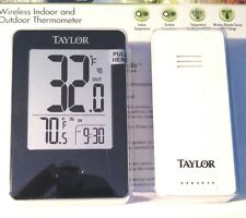 TAYLOR 1730 Indoor/Outdoor Digital Thermometer with Remote Sensor