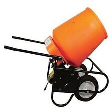 Electric Portable Concrete Mixer - 3.5 Cubic Foot DRUM
