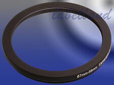 67mm-58mm 67-58 Filter Adaptor Ring Converts 67mm lens thread to 58mm Step-Down