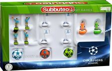 Subbuteo CHAMPIONS LEAGUE REFEREES ADIDAS BALLS FLAGS Football Soccer Toy