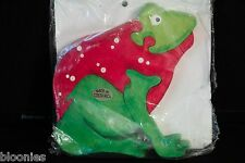 Costa Rica Red Tree Frog Wooden Reinforced Timber Puzzle (Alfaro Family) NEW