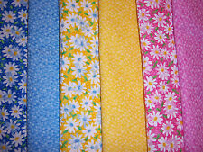 "*60*** Spring Fling  4"" Fabric Squares 100% Cotton Fabric Quilt Quilting USA"