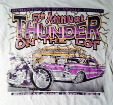 1999 5TH ANNUAL THUNDER ON THE LOT T-SHIRT, PALMDALE SCHOONERS, EXTRA LARGE XL