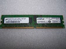 2GB Crucial 533MHz PC2-4200R CL4 DDR2 ECC Reg Server RAM