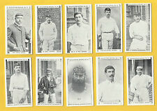 Gabriels Cigarette Cards - CRICKETERS SERIES - Full mint condition set