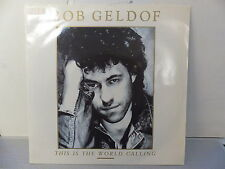 BOB GELDOF This is the world calling 888117 7