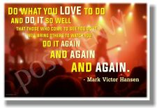 Do What You Love To Do (on stage) - NEW Music Classroom Motivational POSTER