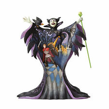 Jim Shore Disney Traditions Maleficent with Scene In Stock