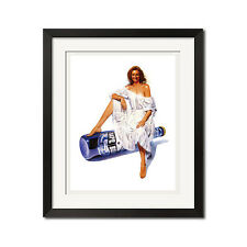 Bape Beer Pin-Up Girl A Bathing Ape Urban Street Poster Print