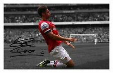 OLIVIER GIROUD - ARSENAL AUTOGRAPHED SIGNED A4 PP POSTER PHOTO 1