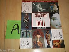 ANATOMY OF A DOLL SUSANNA OROYAN SOFT COVER BOOK 1997 IDEAS TECHNIQUES FOR ALL