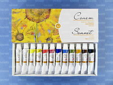 "12 ""SONNET"" STUDIO OIL Paint Set Russian Nevskaya Palitra"