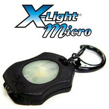 LRI Photon X-Light Micro Keychain Flashlight BLACK Case BLXMW
