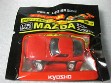 MAZDA SAVANNA RX-7 Early Ver SA22C Red Kyosho 1:100 Scale Diecast Model Car  .