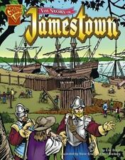 The Story of Jamestown (Graphic History)-ExLibrary