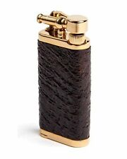 IM Corona Old Boy Pipe and Cigar Lighter Sandblast Briar Gift Box 27041