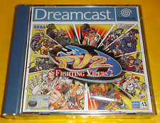 FIGHTING VIPERS 2 Dreamcast DC Versione Europea PAL FightingVipers FV2 ○○○ NUOVO