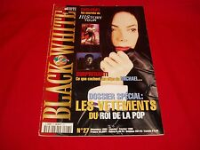 Michael Jackson Black & White French History Tour Magazine 1998 in VG Shape