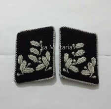 WWII GERMAN ARMY OBERFÖRSTER CAPTAIN COLLAR TABS