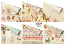 """Prima Marketing Inc: Sweet Peppermint Collection 12""""x12"""" Paper Set of 6"""