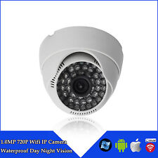 WIFI 720P Wireless HD IP Camera ONVIF In/Outdoor 3W Security Day/Night Vision DF