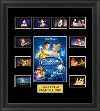 DISNEY CINDERELLA 1950  MOUNTED FRAMED 35MM FILM CELL MEMORABILIA