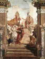 Giovanni Battista Tiepolo Palazzo Labia The Meeting Of Anthony And Cleopatra 5 A