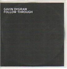 (196K) Gavin DeGraw, Follow Through - DJ CD