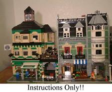 GET 100+ LEGO INSTRUCTIONS like COFFEE SHOP great for 10185 Green Grocer