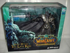 World of Warcraft WoW Arthas Menethil Lich King De Lujo Estatua Figura De Acción Nueva En Caja