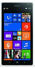 """New"" Nokia Lumia 1520 - 16GB - White (AT&T Unlocked) Smartphone  GSM 4G LTE"