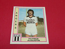 PATRICE AUGUSTIN SCO ANGERS RECUPERATION PANINI FOOTBALL 80 1979-1980